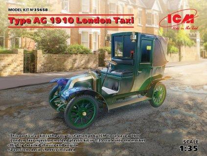 ICM 35658 1 35 Type AG 1910 London Taxi (2x camo)