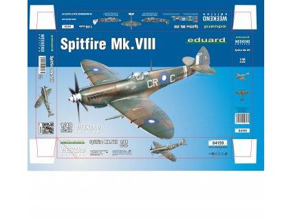1/48 Spitfire Mk.VIII (Weekend edition)