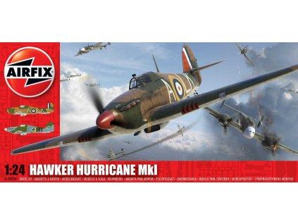 Classic Kit letadlo A14002A - Hawker Hurricane MkI (1:24)