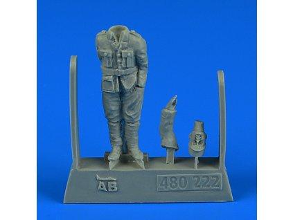 480222 French WWI Pilot