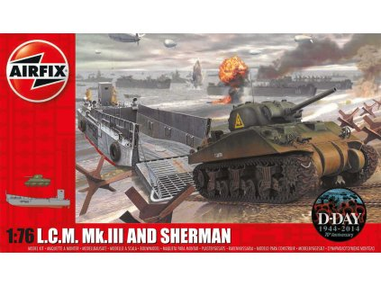 Classic Kit military A03301 - LCM and Sherman (1:76)