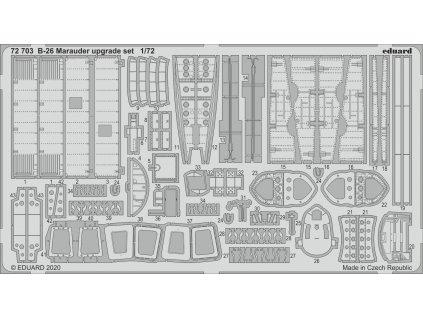 1/72 B-26 Marauder upgrade set (EDUARD)