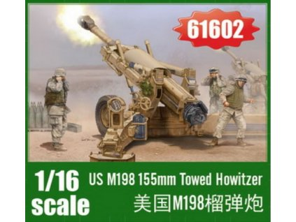 61602 US M198 155mm Towed Howitzer 1 16