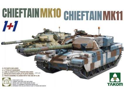 Takom 5006 Chieftain MK 10, Chieftain MK11