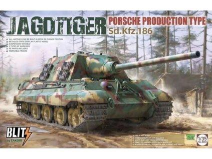 TAK8003 Jagdtiger Sd.Kfz. 186 Porsche Production type
