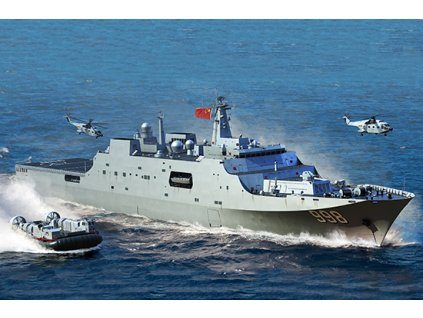 PLA Navy Type 071 Amphibious Transport Dock 06726
