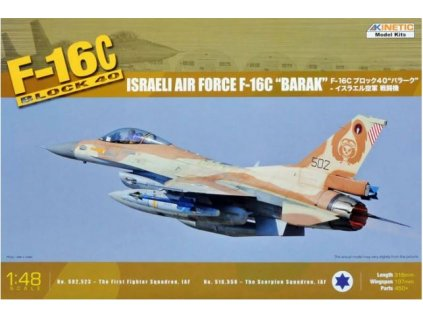 K48012 Israeli Air Force F 16C Barak Block 40