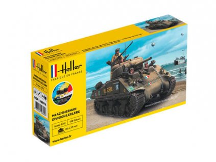 56894 STARTER KIT M4A2 Sherman Division Leclerc