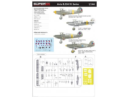 4453 Avia B.534 IV. Series 1 144