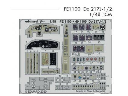 FE1100 Do 217J 1 2 ICM 1 48