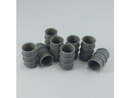 1/48 German empty barrels  (1/48 scale)
