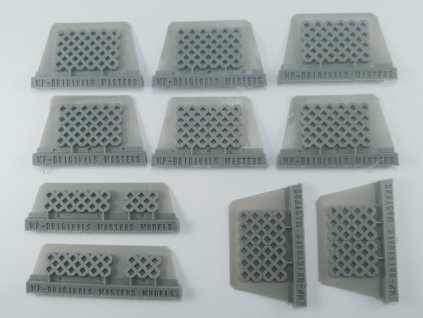 1/48 Grass blocks  (1/48 scale)
