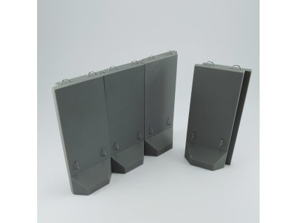 1/48 US Army Anti-blast wall  (1/48 scale)