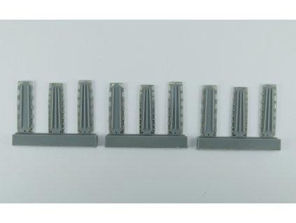 1/72 Plastic stretchers  (1/72 scale)