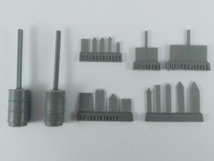 1/48 Road signs (smal set) (1/48 scale)