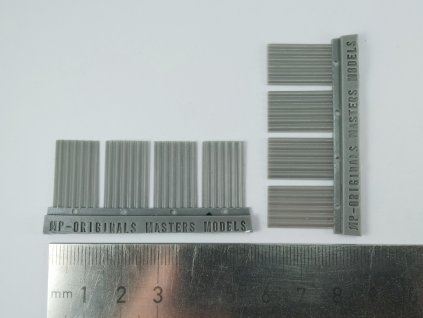 1/72 Roof tiles (pantiles) (1/72 scale)