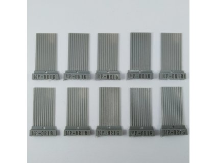 1/72 Corrugated sheets (1/72 scale)