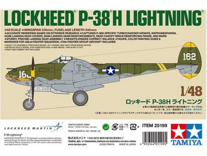 25199 Lockheed P 38H Lightning