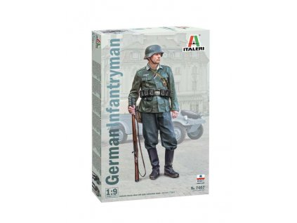 Model Kit figurka 7407 - German Infantryman (1:9)