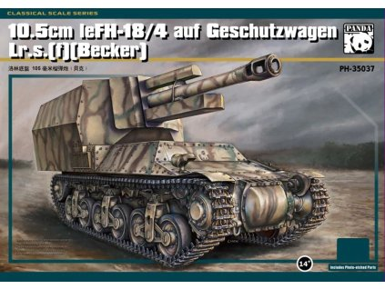 PH 35037 10,5 cm LeFH 18 4 auf Geschutzwagen Lr.S.(f) (Becker)