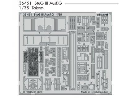 36451 StuG III Ausf.G 1 35 Takom