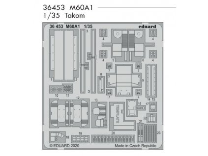 36453 M60A1 1 35 Takom