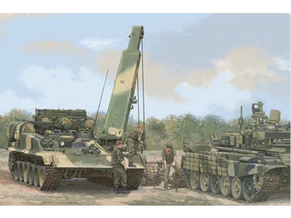 09554 Russian BREM 1M Armoured Recovery Vehicle