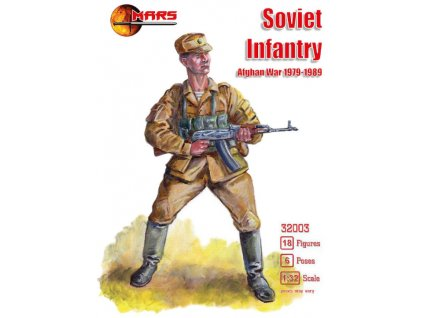MS32003 1 32 Soviet infantry, Afghan War 1979 1989