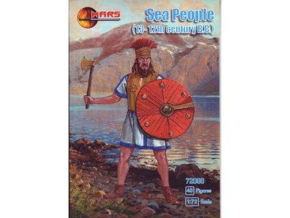 ms72088 Sea Peoples, 13 12th century BC