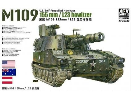 AF35329 M109 155mm L23 howitzer