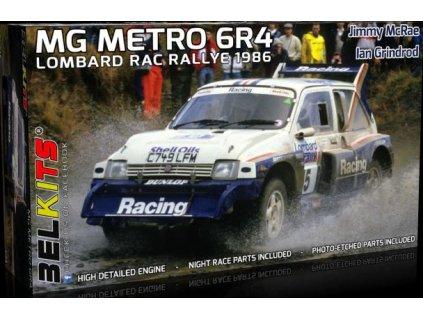 BEL 016 MG Metro 6R4 1986