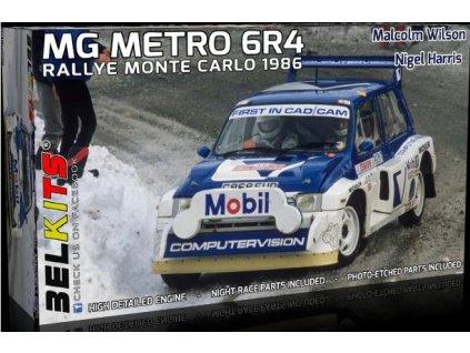 BEL 015 MG Metro 6R4 1986