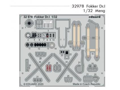 32978 Fokker Dr.I 1 32 Meng