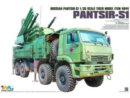 4644 Russian Pantsir S1 missile system