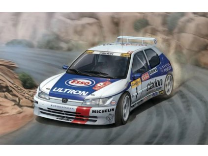 PN24009 Racing Series Peugeot 306 Maxi 1996 Rally Monte Carlo