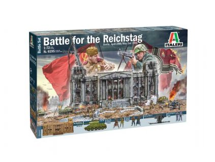 Model Kit diorama 6195 - Berlin 1945: Battle for the Reichstag (1:72)