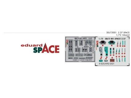 3DL72001 Z 37 SPACE 1 72 Eduard