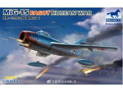 FB4014 MiG 15 Fagot Korean War