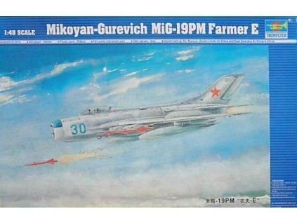 02804 Mikoyan Gurevich MiG 19PM Farmer E