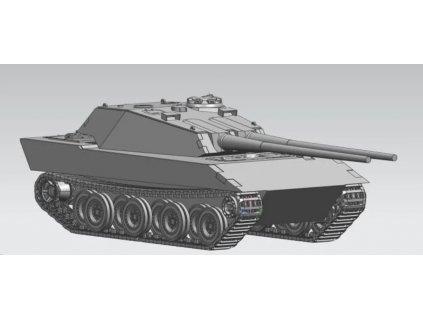 UA35028 German E100 super heavy tank Ausf.G, 105mm twin guns