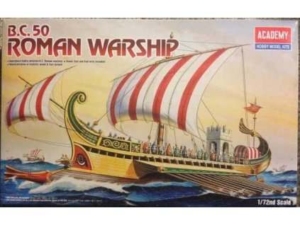 Model Kit loď 14207 - ROMAN WARSHIP CIRCA B.C 50 (1:72)