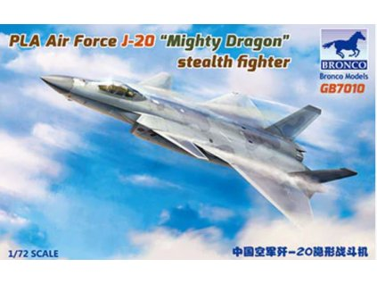 GB7010 PLA Air Force J 20A Stealthfighter