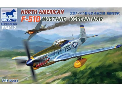 FB4012 North American F 51D Mustang Korean War