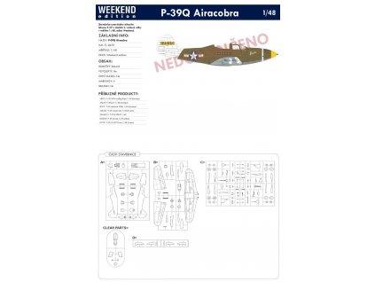 8470 P 39Q Airacobra Weekend Edition