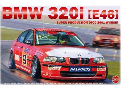 PN24007 BMW 320i E46 Super Production DTCC 2001 Winner Tom Coronel