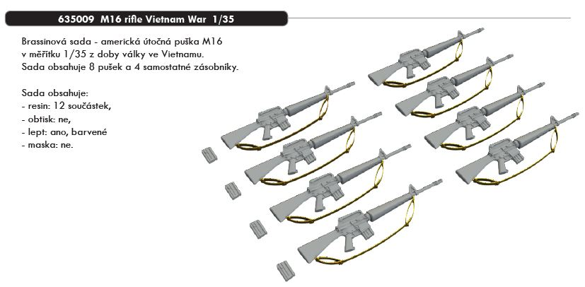 1/35 M16 rifle Vietnam War
