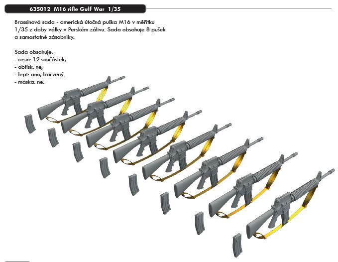 1/35 M16 rifle Gulf War