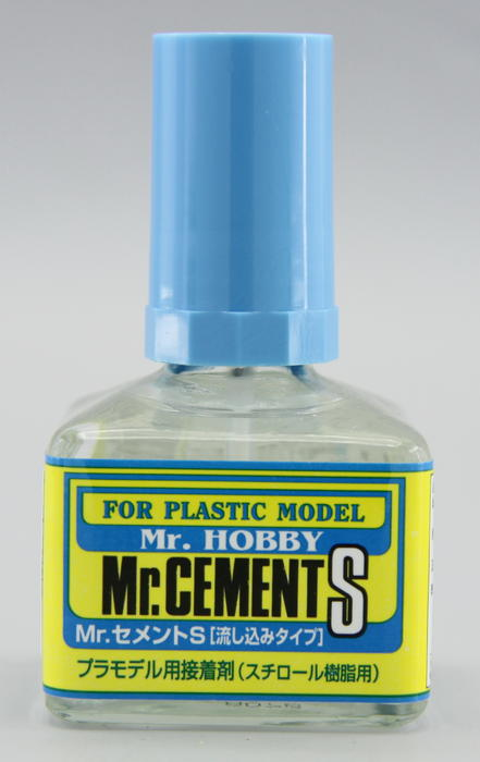 MC129 Mr.Cement S - Lepidlo na plast 40ml (špič.štětec)