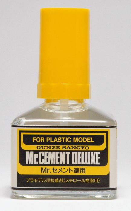 MC127 Mr.Cement Deluxe - Lepidlo na plast 40ml