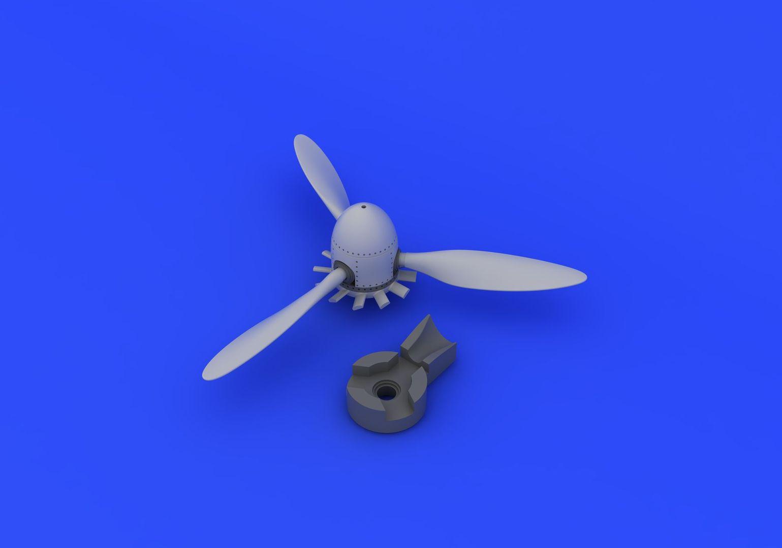 1/72 Fw 190A propeller (Eduard)